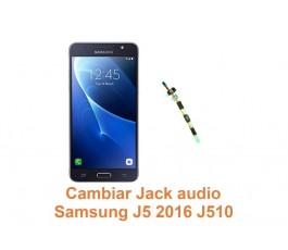 Cambiar Jack audio Samsung Galaxy J5 2016 J510