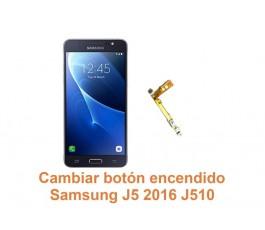 Cambiar botón encendido Samsung Galaxy J5 2016 J510