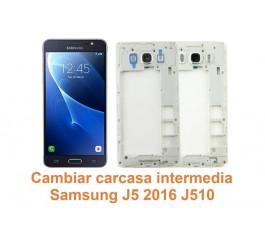 Cambiar carcasa intermedia Samsung Galaxy J5 2016 J510
