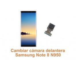 Cambiar cámara delantera Samsung Note 8 N950