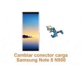 Cambiar conector carga Samsung Note 8 N950