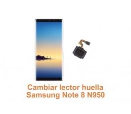 Cambiar lector huella Samsung Note 8 N950