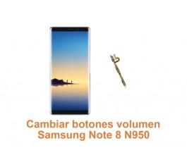 Cambiar botones volumen Samsung Note 8 N950
