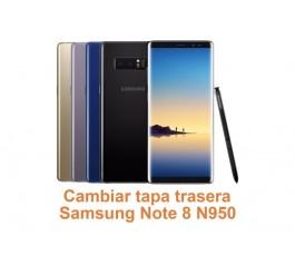 Cambiar tapa trasera Samsung Note 8 N950