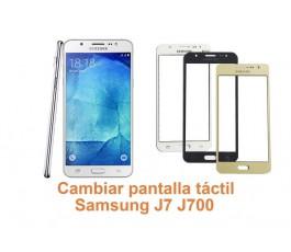 Cambiar pantalla táctil Samsung Galaxy J7 J700