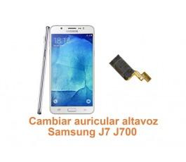 Cambiar auricular altavoz Samsung Galaxy J7 J700