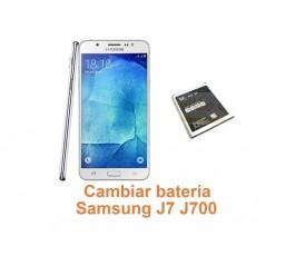 Cambiar batería Samsung Galaxy J7 J700
