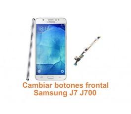Cambiar botones frontal Samsung Galaxy J7 J700