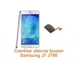 Cambiar altavoz buzzer Samsung Galaxy J7 J700