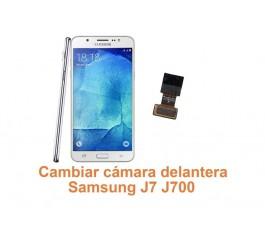 Cambiar cámara delantera Samsung Galaxy J7 J700