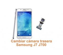 Cambiar cámara trasera Samsung Galaxy J7 J700