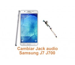 Cambiar Jack audio Samsung Galaxy J7 J700