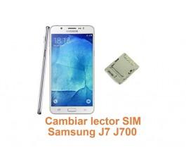 Cambiar lector SIM Samsung Galaxy J7 J700