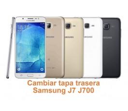 Cambiar tapa trasera Samsung Galaxy J7 J700