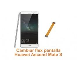 Cambiar flex pantalla Huawei Ascend Mate S