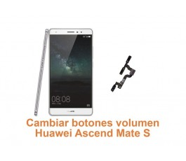 Cambiar botones volumen Huawei Ascend Mate S