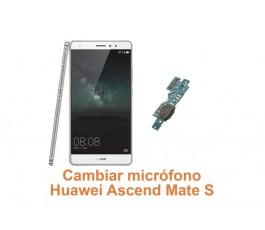 Cambiar micrófono Huawei Ascend Mate S