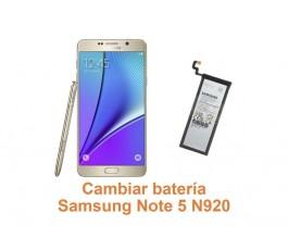 Cambiar batería Samsung Galaxy Note 5 N920