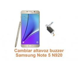 Cambiar altavoz buzzer Samsung Galaxy Note 5 N920