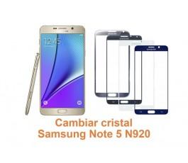 Cambiar cristal Samsung Galaxy Note 5 N920
