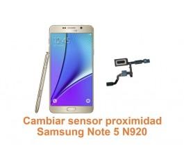 Cambiar sensor proximidad Samsung Galaxy Note 5 N920