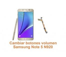 Cambiar botones volumen Samsung Galaxy Note 5 N920