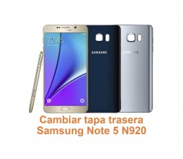 Cambiar tapa trasera Samsung Galaxy Note 5 N920