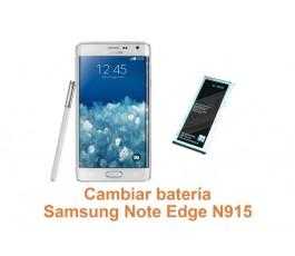 Cambiar batería Samsung Galaxy Note Edge N915