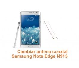 Cambiar antena coaxial Samsung Galaxy Note Edge N915