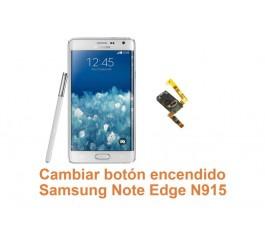 Cambiar botón encendido Samsung Galaxy Note Edge N915