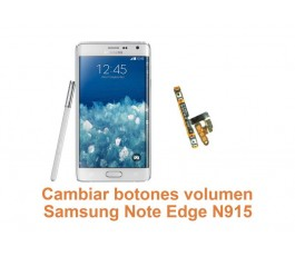 Cambiar botones volumen Samsung Galaxy Note Edge N915