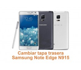 Cambiar tapa trasera Samsung Galaxy Note Edge N915