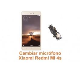 Cambiar micrófono Xiaomi Redmi MI 4S