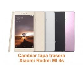 Cambiar tapa trasera Xiaomi Redmi MI 4S