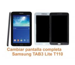 Cambiar pantalla completa Samsung Tab3 Lite T110