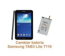 Cambiar batería Samsung Tab3 Lite T110