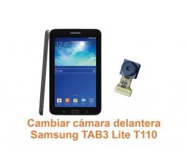 Cambiar cámara delantera Samsung Tab3 Lite T110