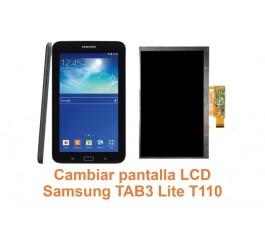 Cambiar pantalla Lcd Samsung Tab3 Lite T110
