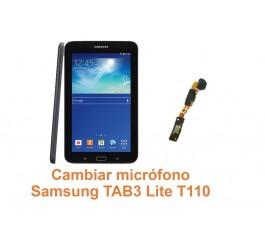 Cambiar micrófono Samsung Tab3 Lite T110