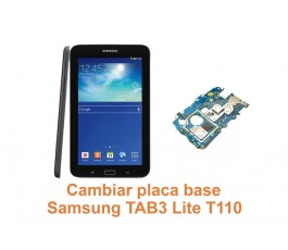 Cambiar placa base Samsung Tab3 Lite T110