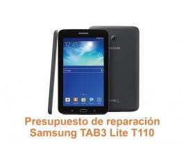 Presupuesto de reparación Samsung Tab3 Lite T110