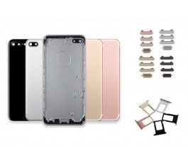 Carcasa para iPhone 7 Plus negro brillo