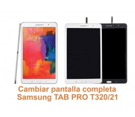 Cambiar pantalla completa Samsung Tab Pro T320