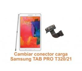 Cambiar conector carga Samsung Tab Pro T320