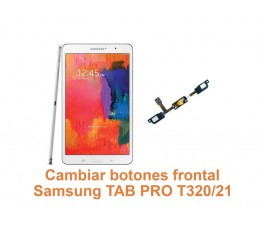 Cambiar botones frontal Samsung Tab Pro T320