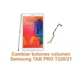 Cambiar botones volumen Samsung Tab Pro T320