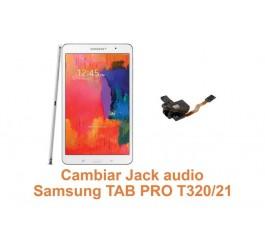 Cambiar Jack audio Samsung Tab Pro T320
