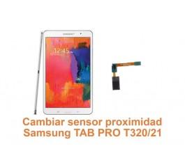 Cambiar sensor proximidad Samsung Tab Pro T320