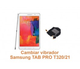 Cambiar vibrador Samsung Tab Pro T320