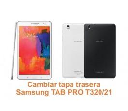 Cambiar tapa trasera Samsung Tab Pro T320